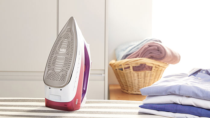 Express Ironing Smooth out creases with the help of a durable steam iron from our selection of household electricals.