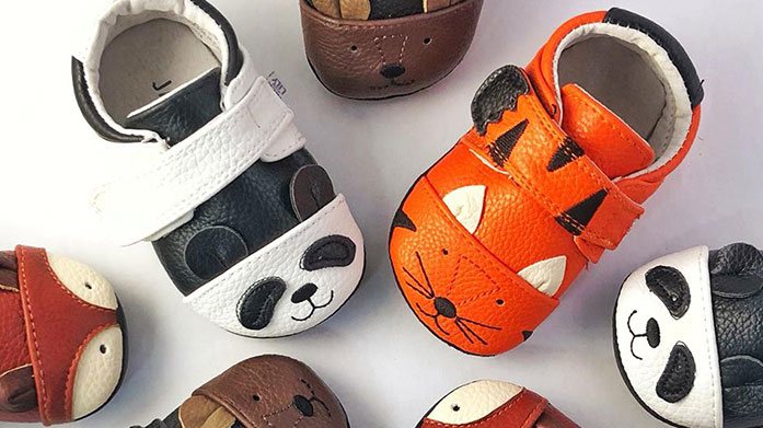Jack & Lily Baby Discover playful footwear for little feet from Jack & Lily's range of trainers, slip-on shoes and sandals for boys and girls.