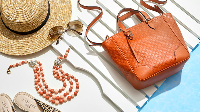 Last Minute Vacay Ready Pick up those all important holiday accessories for your upcoming vacay! Shop designer sunglasses, jewellery and handbags.