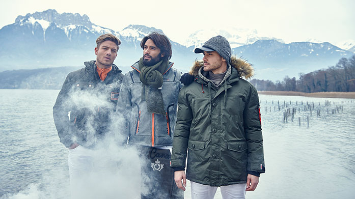 Men's Outerwear Edit Update your autumn wardrobe with a waterproof coat from Geographical Norway, quilted jacket from Joules or padded parka by Canadian Peak.