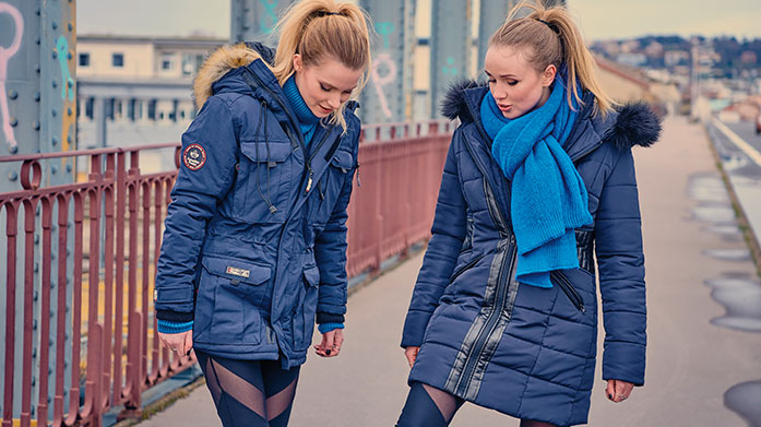 Women's Outerwear Edit Wrap up in style with a padded gilet by Geographical Norway, waterproof rain mac from Hunter, or warm parka coat by Regatta.