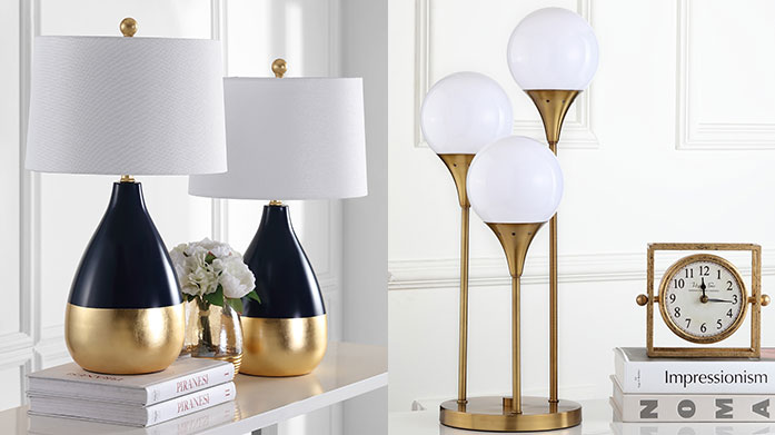 Safavieh Lighting Love to live with new contemporary lighting from Safavieh. Shop colourful table lamps, antique floor lamps and more.