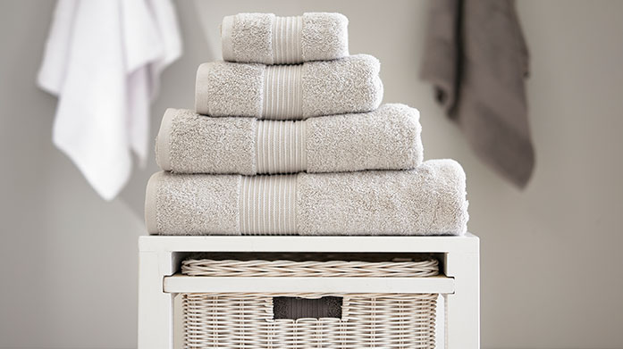 Bliss Towels This luxurious collection of towels are crafted from the highest quality pima cotton to provide wonderful softness and exceptional absorbency.