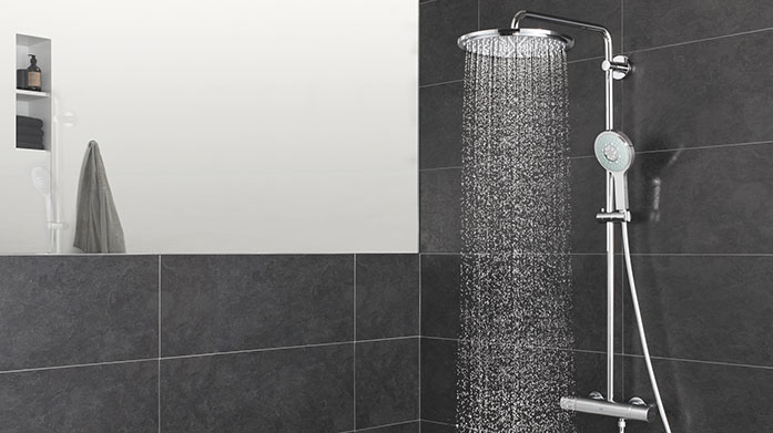 GROHE Bathroom Breathe new life into your bathroom with chic bathroom fixtures and accessories from GROHE. Shop towel rails, soap dispensers and more.