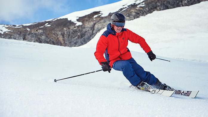 Men's Skiwear Edit  Men's skiwear and ski accessories to kit you out for your next winter holiday, including ski jackets, salopettes and men's ski trousers.