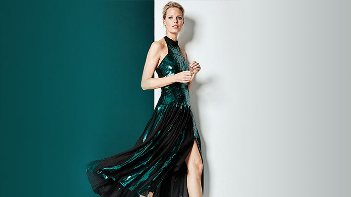 Karen Millen: Winter Glam Edit Discover our Karen Millen party edit for impeccably tailored dresses and jumpsuits, sequin trousers and glitzy two-pieces.