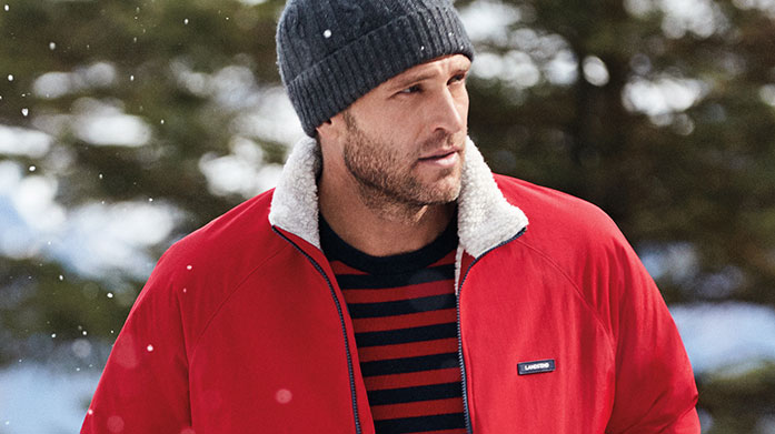 Layer Up for Christmas Men's Beat the chill this Christmas and layer up with our luxury menswear collection.