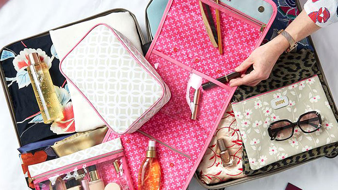 Beauty Tools Pamper and preen yourself to perfection with a range of wash bags, makeup essentials and beauty tools.