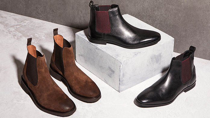 Office to Bar Boots Find your perfect pair of boots for day to nighttime dressing in this edit of men's designer ankle boots, Chelsea boots and biker boots.