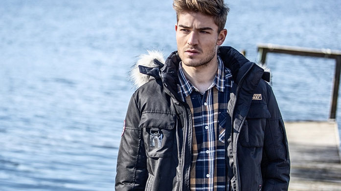 Warm Winter Jackets for Him Shop our must-have collection of men's winter jackets by Geographical Norway, DLX, Trespass Regatta and Under Armour.