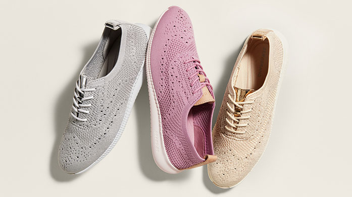 Cole Haan Women's In our latest sale with footwear specialists Cole Haan, shop trainers, flat shoes and boots for her.