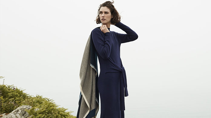 Women's January Blues Beat the blues this January in style. Shop tailored coats. midi dresses, cosy knitwear and skinny jeans from brands such as Reiss, Whistles, 7 For All Mankind and BOSS. Dresses from £25.