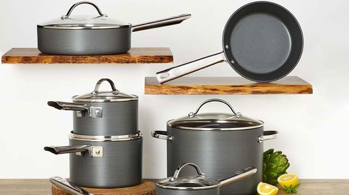 Top Chef Essentials Discover top of the range pots, pans and everything in between as part of our top chef essentials featuring Lion Sabatier, Analon and Prestige.