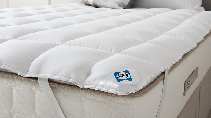 Sealy Duvets, Pillows & Toppers Using comfort enhancing technology, this range offers everything you need for a restful night's sleep. Shop duvets, pillows and mattress toppers.