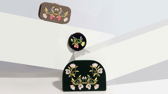 For The Luxury Traveller Take your jewellery, accessories and cosmetics in a compact and stylish leather travel case.