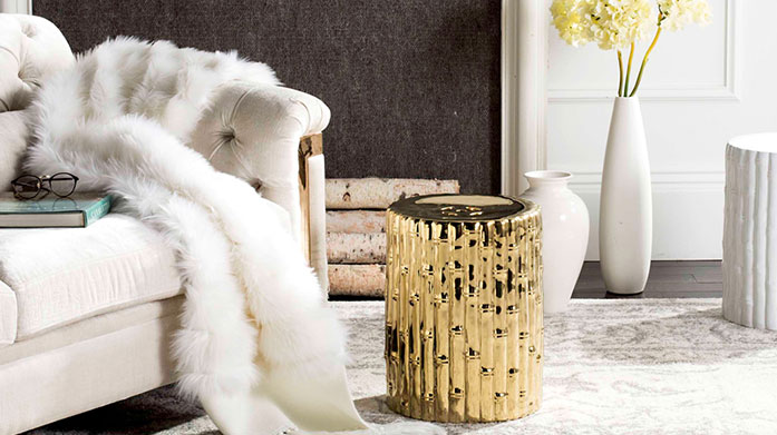 Accent Tables from £99 Dress up your interiors with a chic and understated coffee table, a classic wooden side table or a luxe metallic bar cart. All from £99!
