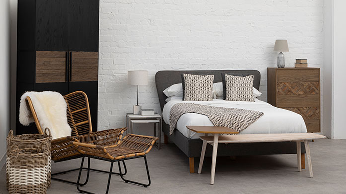 Scandi Designed Interiors Do as the Scandinavians do and fill your home with stylish, minimalist furniture, from wooden dining chairs to neutral velvet sofas.