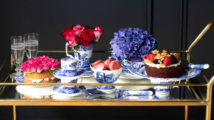 Spode Blue Italian Spode's iconic Blue Italian crockery is known for bringing effortless charm and timeless style to homes across the globe since 1816.