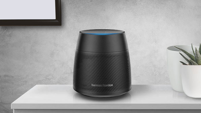 Alexa Harman Kardon Powered by Amazon Alexa Voice Service, the Harman Kardon Astra is a premium voice-activated smart speaker delivering 360-degree sound.