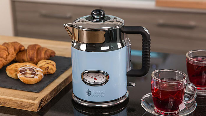 Russell Hobbs Upgrade your kitchenware to Russell Hobbs' quality collection of pots and pans, electricals and cooking utensils.