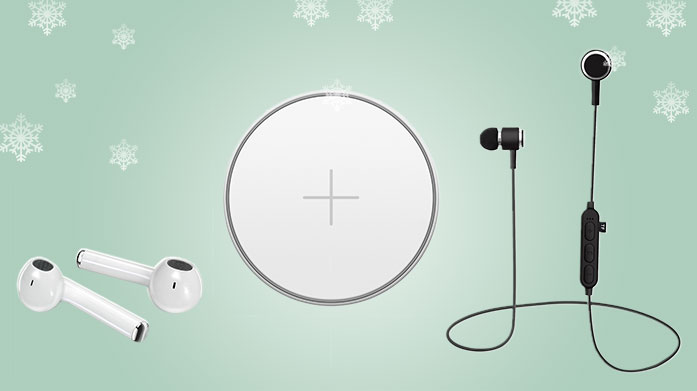 Tech Gifts Fill their stocking with useful tech gifts from this sale of battery pack chargers, earphones and iPhone cases and cables.