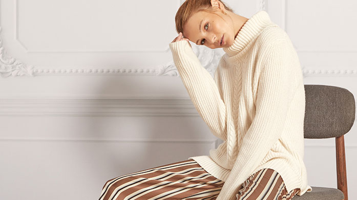 It's Time To Chill Winter fashion doesn't get better than our edit of women's casual clothing, luxury knitwear, winter coats and ankle boots.