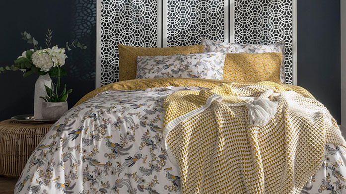 Fat Face Bed Linen Inspired by FatFace's beautiful hand-drawn prints, this collection of stylish bed linen will make a statement in any bedroom.