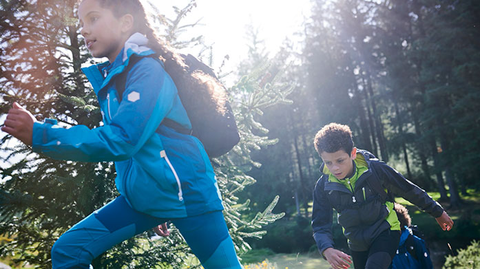 Live Life Outdoors Kid's Encourage the kids to keep active this winter with our newest edit of outdoor clothing for little ones.