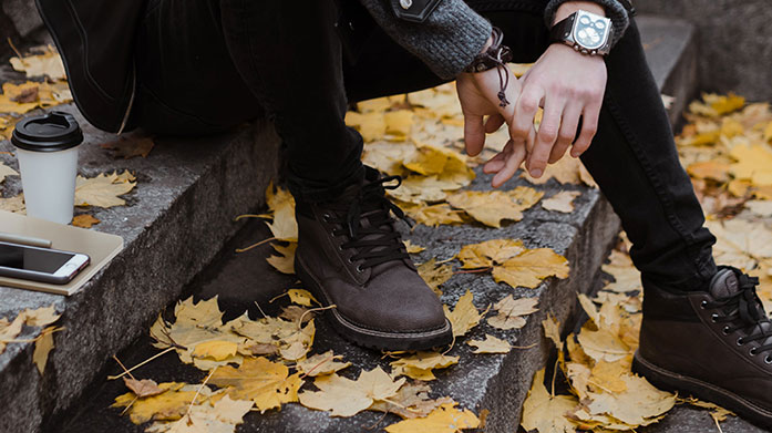 Solid Ground: Boots For Men Now's the time to indulge in a fresh pair of winter boots for him. Shop Chelsea boots, lace up styles and more from Dune and Hudson London to name a few...