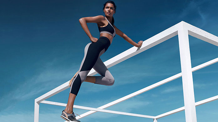 Activewear Edit Keep fit and look great whilst doing it in sports bras, leggings and vests from our latest activewear edit.
