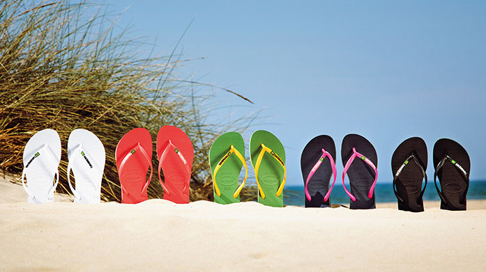 Havaianas Women's Flip Flops Everyone's favourite flip flop brand debuts at BrandAlley! Choose from classic block colours, tribal print, animal print or embellished finish styles.