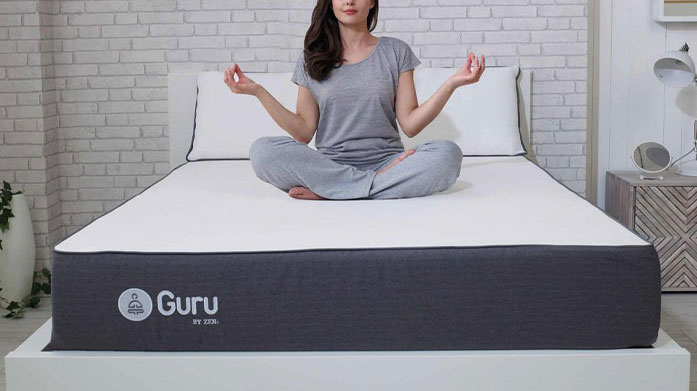 The Guru Mattress Debut Choose a Guru Mattress to ensure all your next night's sleeps (and naps) are relaxing, supportive & comfortable.