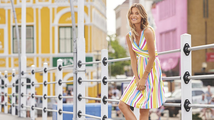 Last Minute Summer Clearance for Her Make the most of the sunshine with our women's clearance sale featuring short sleeve dresses, pastel tees, lightweight jackets and more.