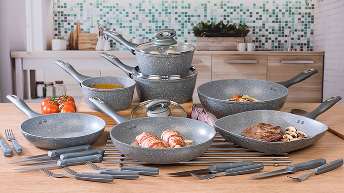 Salter Cookshop Cook up a feast with quality frying pans, saucepans, and other cookware from leading kitchen connoisseurs, Salter.