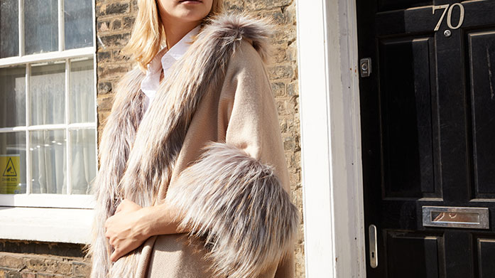 Glamorous Outfit Touches Look your most glamorous and polished self with a faux fur coat, wrap, shawl or scarf from our edit of luxury women's accessories.