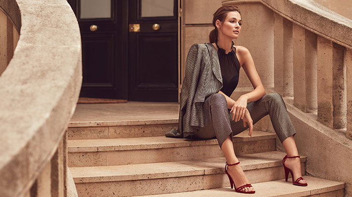 Reiss Clothing & Footwear Indulge your wardrobe with this sharp and chic collection of dresses, tailored separates, blouses and footwear by Reiss. Dresses from £29.