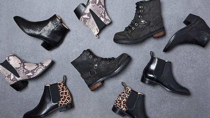 Hikers, Bikers & Westerns to Boot  Walk into the season in a new pair of hiker, biker or western boots from our coveted shoe edit by ASH, Carvela, Oliver Sweeney and more.
