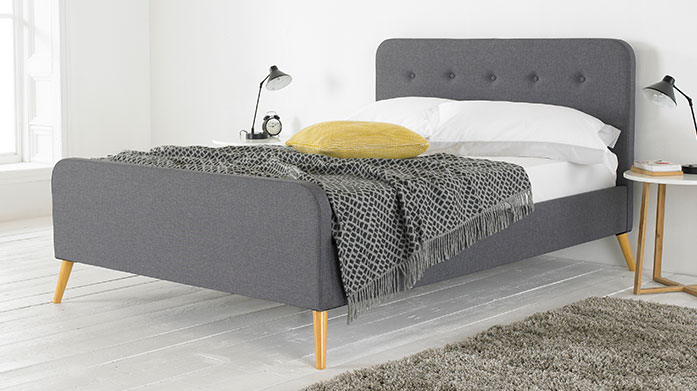 New Season Luxe Fabric Beds Whether you're looking for a luxe ottoman bed with extra storage or a stylish new bedframe, this collection of new season bedroom furniture has it all.