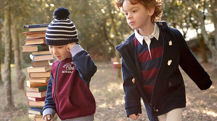 Petit Bateau Clearance Stock up on the classic French designs of Petit Bateau. There's vibrant rain macs, timeless breton striped tees and more for your little ones.