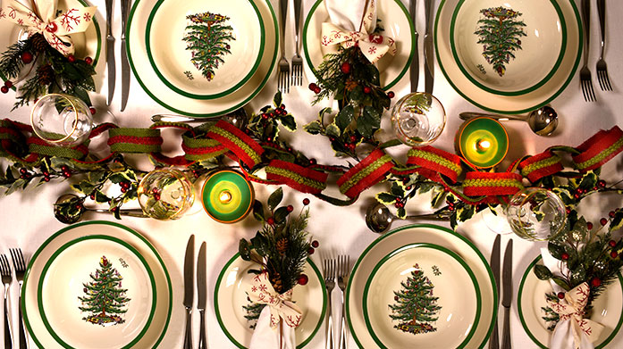 Spode Christmas Tree Bring a magical touch to your dining table with the beautiful Spode Christmas Tree collection. Shop festive tableware and accessories.