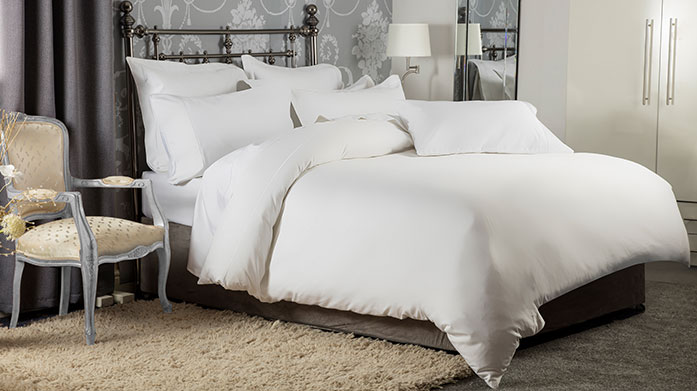 Luxury 1200TC Linens Crafted with superior long staple yarns with a silky sateen finish, these 1200 thread count linens are the height of luxury.