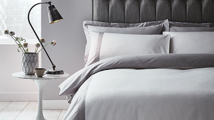 New Year Bedding Updates Ditch your old linens and refresh your bedroom for 2020 with new bedding, duvets, pillows and mattress toppers from this luxury collection.