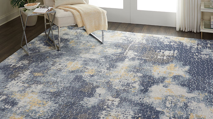 Statement Size Rugs Refresh tired looking floors with a statement piece from this collection of design-led rugs.