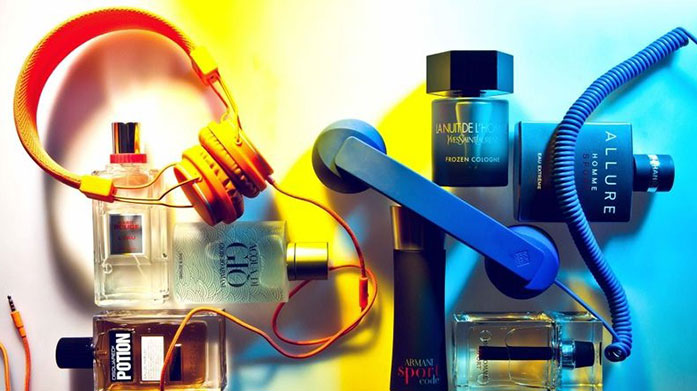 Valentines Fragrances for Him This Valentine's Day treat your leading man to a new men's fragrance by Paco Rabanne, Dior, Gucci, Emporio Armani or Guess.