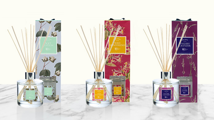 Spring Diffusers Infuse your home this season with this collection of luxuriously scented reed diffusers from Parks London, Oxford Botanic Garden and more.