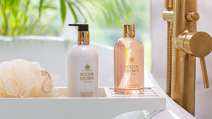 Boost Your Bath Time Take bathtime to the next level with lotions and potions to enhance the experience from Skandinavisk, Molton Brown and more.