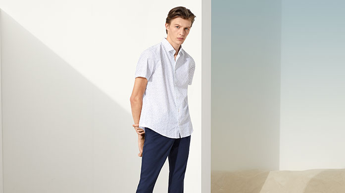 BOSS Casualwear Look the part this season in the finest threads from BOSS. Our casualwear edit includes classic polo tees and everyday chinos.