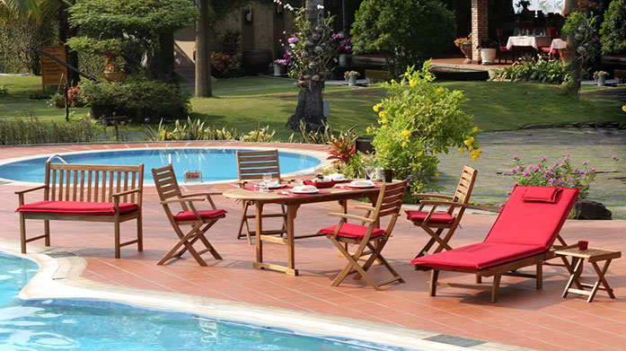 Norfolk Leisure Garden Furniture Collection Get your garden ship shape for the imminent summer soirees with Norfolk Leisure's modern collection of outdoor furniture.