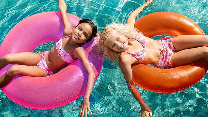 Mini Make a Splash Kit out your kids in time for the summer holidays with swimwear and clothing from Seafolly, Sunuva, Little Marcel and more.