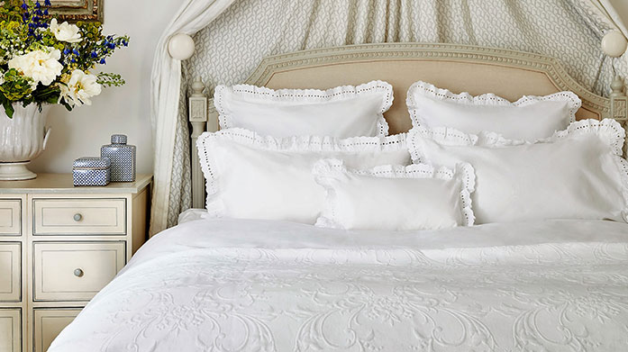 Sophie Conran Bed Linen Look forward to bedtime with these beautiful bed linen designs from Sophie Conran. Made from pure cotton for ultimate luxury.